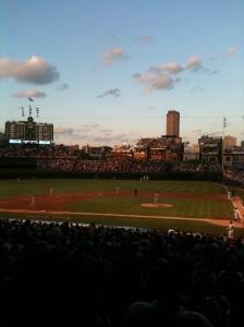 Photo I took at Wrigley Field